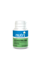 Nutri Advanced D3 Lemon Melts 2000iu (120)