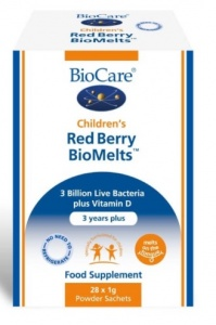 Biocare Children's Red Berry BioMelts - 28 Sachets
