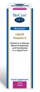 BioCare Nutrisorb Liquid Vitamin E (25ml)