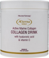 Higher Nature AEterna Gold Active Marine Collagen Drink Size 70ml