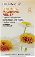 Higher Nature Feverfew Migraine Relief