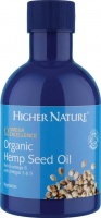 Higher Nature Organic Hemp Seed Oil - Size 200ml