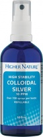 Higher Nature High Stability Colloidal Silver -15ml refillable Spray