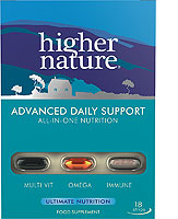 Higher Nature Advanced Daily Nutrition  - Size 30