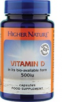 Higher Nature Vitamin D3 - 60