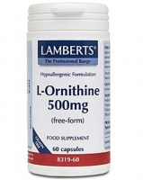 Lamberts L-Ornithine 500mg