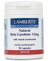 Lamberts Beta Carotene with Mixed Carotenoids 15mg