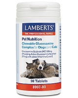 Lamberts Chewable Glucosamine Complex for Dogs (& Cats)