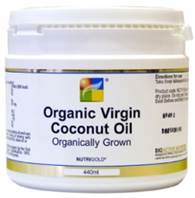Nutrigold Organic Virgin Coconut Oil - 440ml