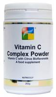 Nutrigold Vitamin C Complex Powder, with Citrus Bioflavonoids - 250g