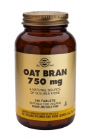 Solgar Oat Bran 750 mg Tablets (100)