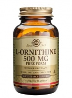 Solgar L-Ornithine 500mg (Free Form) - 50