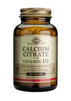 Solgar Calcium Citrate with Vitamin D3 tabs