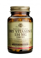 Solgar Vitamin E 134 mg (200 IU) Dry Vegetable Capsules