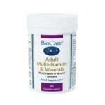 BioCare Adult Multivitamins & Minerals Iron free.