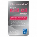 Cleanmarine Krill Oil for Men (60)