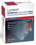 Lamberts Echinacea Cold & Flu Relief Tablets (60)
