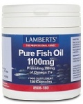 Lamberts Pure Fish Oil 1100mg - caps
