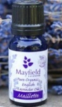 Mayfield Pure Organic Lavender Essential Oil (Maillette)