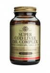 Solgar Super Cod Liver Oil Complex Softgels
