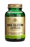 Solgar Red Clover Flower and Leaf Extract Vegetable Capsules (60)