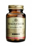 Solgar Magnesium with Vitamin B6 Tablets 100 tabs