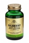 Solgar Bilberry Berry Extract with Blueberry Vegetable Capsules (60)
