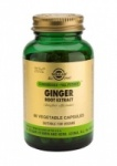 Solgar Ginger Root Extract Vegetable Capsules (60)