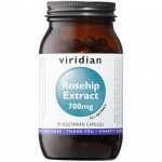 Viridian Rosehip Extract 700mg Capsules