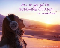 The days are getting shorter- time to top up your vitamin D
