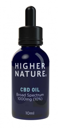 Safe, legal, non-psychoactive CBD Oil from Higher Nature