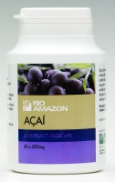Rio Amazon Acai 500mg 2:1 extract vegicaps