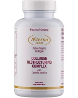 Higher Nature AEterna Gold Collagen Beauty capsules 90