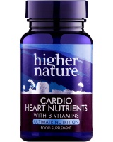 Higher Nature Cardio Heart Nutrients (120)