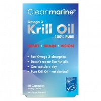 Cleanmarine Krill Oil - 500mg - 60 Softgels