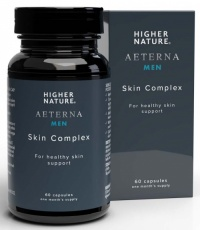 Higher Nature AEterna Gold Men's Skin Complex (60)