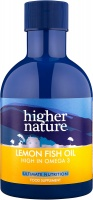 Higher Nature Lemon Fish Oil - Size 200ml