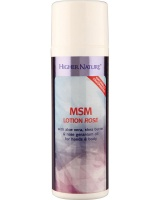 Higher Nature Naturally Fragranced MSM Lotion Rose Size 150m