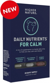 Higher Nature Daily Nutrients for Calm (28 Blister)