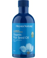 Higher Nature Organic Flax Seed Oil