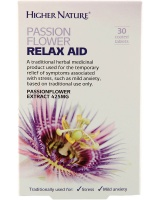 Higher Nature Passionflower Relax Aid - 30