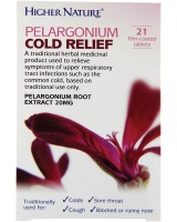 Higher Nature Pelargonium Cold Relief - 21
