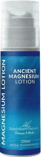 Good Health Naturally Ancient Magnesium Lotion 200ml