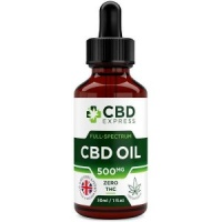 CBD Express Zero THC Full Spectrum 500mg CBD Oil 30ml