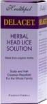 Healthpol Delacet Herbal Head Lice Solution - 110ml