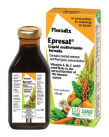 Floradix Epresat Liquid Multivitamin Formula 250ml