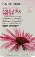 Higher Nature Echinacea Cold & Flu Relief