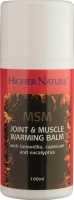 Higher Nature MSM Joint & Muscle Warming Balm - 100ml