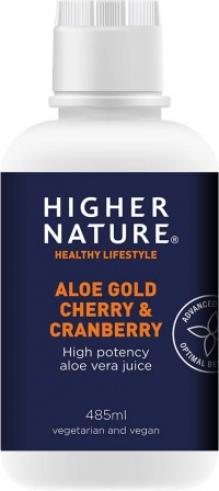 Higher Nature Aloe Gold Cherry & Cranberry (485ML)