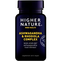 Higher Nature Ashwaganda & Rhodiola (90)